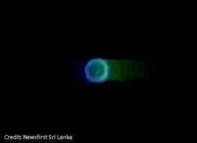 UFOs Over Sri Lanka 12-10-12