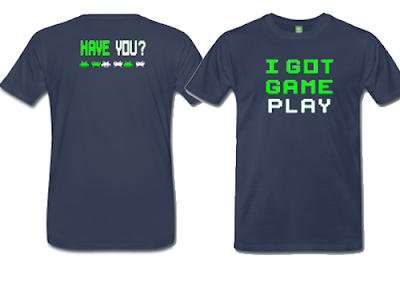 Retro Video Game T-Shirts on Sale for I Got Gameplay