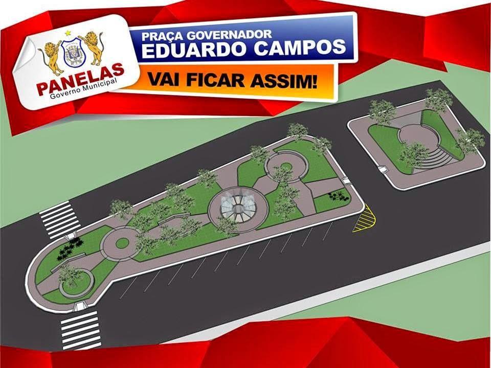 Projeto de Readequação da Praça Governador Eduardo Campos.