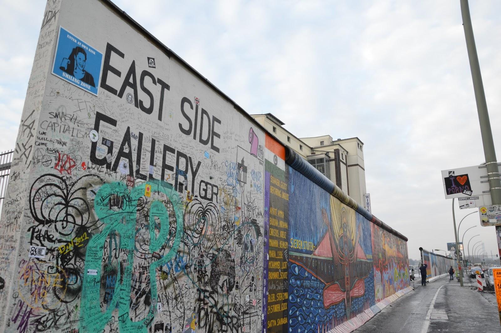 Pensieri in viaggio addio al muro di berlino addio east for Gewerbefl che berlin