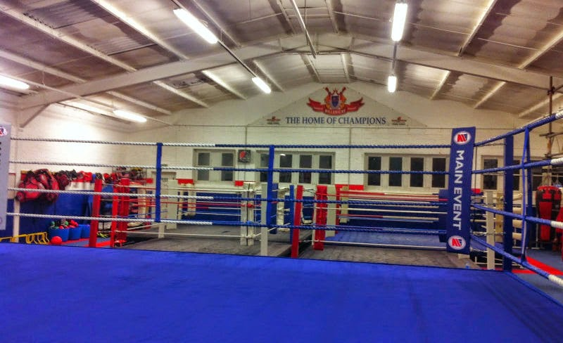 Billericay and Wickford Boxing Club's Gym