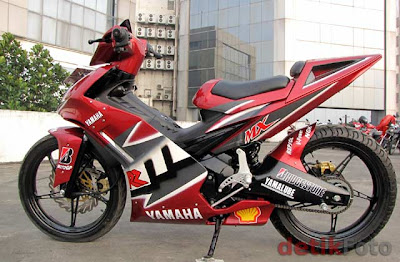 Yamaha Jupiter MX modifikasi