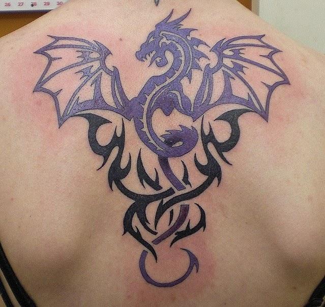 12 Best Tribal Back Tattoos Designs