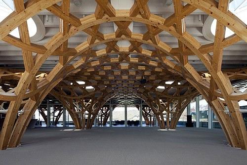 Estructura de madera laminada novedades maderas del - Estructura madera laminada ...