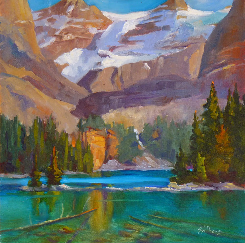 Sharon lynn williams 39 art blog lake o 39 hara paint out by for Sharon williams paint