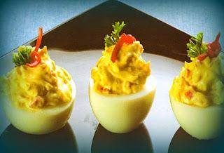 Huevos a la diabla