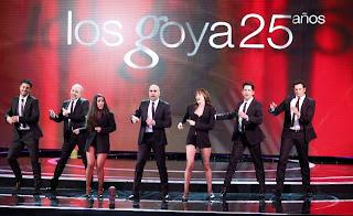 Imagen de la gala de los Goya 25 años