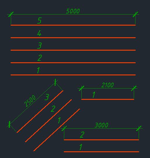 подсчет длин в AutoCAD