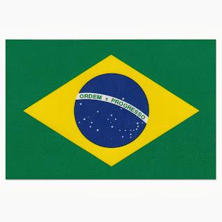 Gambar Bendera Negara Brazil 2