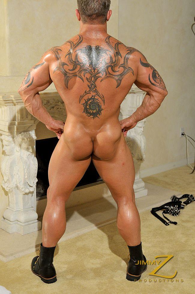 Old Male bodybuilder strip videos