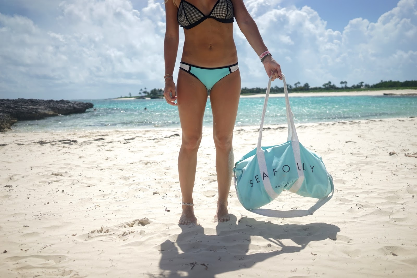 seafolly beach bag