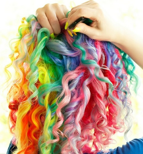 Fashion Launderette Lust After Pastel Rainbow Hair