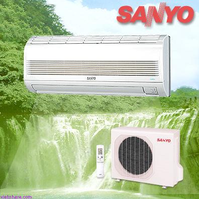 Cách tiết kiệm điện cho máy lạnh Sanyo Non-Inverter