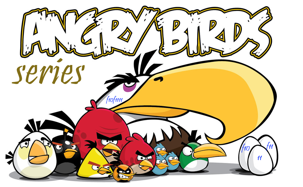 angry birds games list