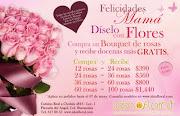 Porque mamá lo merece, este 10 de mayo, Díselo con Flores. (flyer mayo low)
