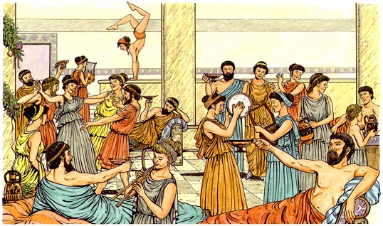 fiesta con prostitutas prostitutas antigua grecia