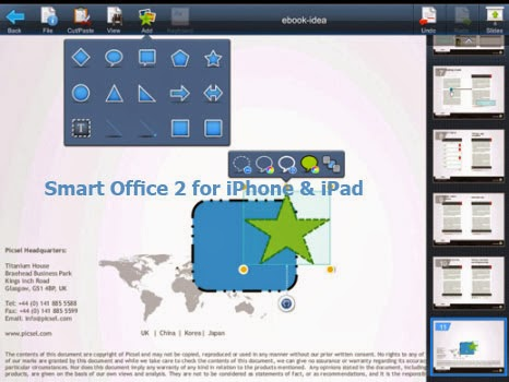 Smart Office 2 for iPhone Free Download 4 iPad Image