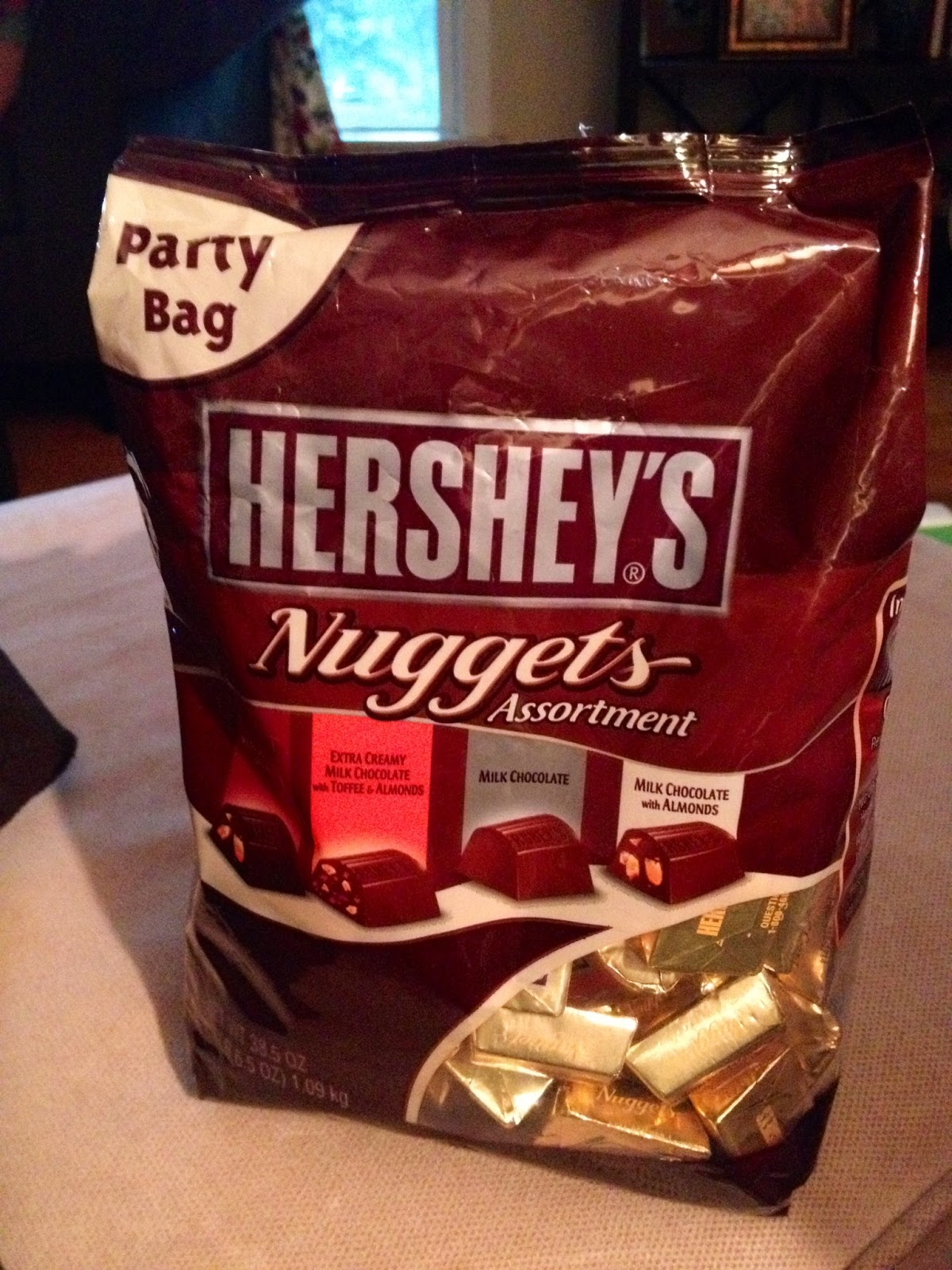 and I may or may not have put a good dent in this bag.