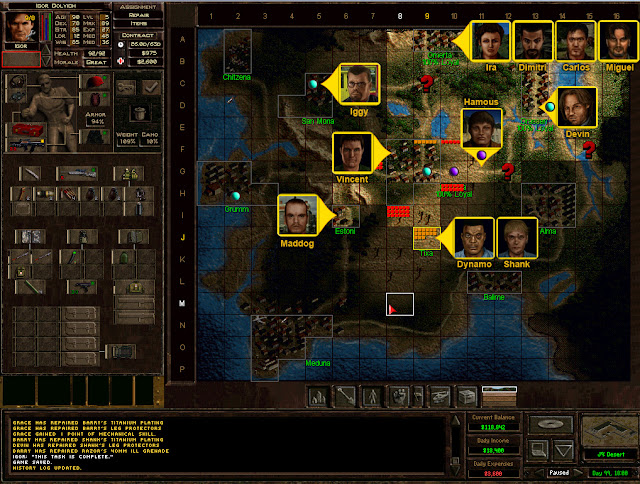 Jagged Alliance 2 - Recruitable Mercs Location Description