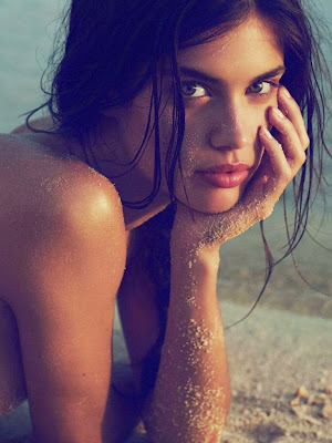 Sara Sampaio Harper's Bazaar UK Magazine June 2015 photoshoot