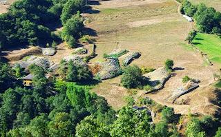 Ibias, antigua explotación aurífera El Foxo