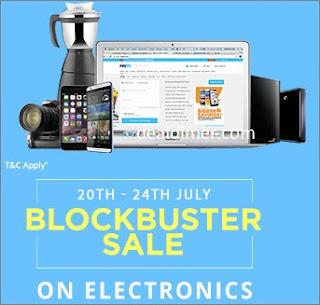 PayTM Electronics Blockbuster Sale
