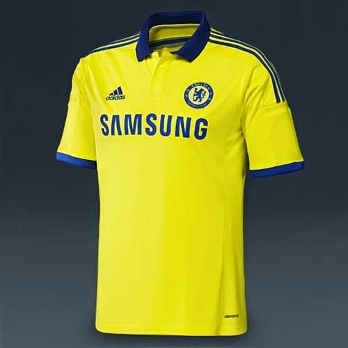 Adidas released 14/15 Chelsea away kit