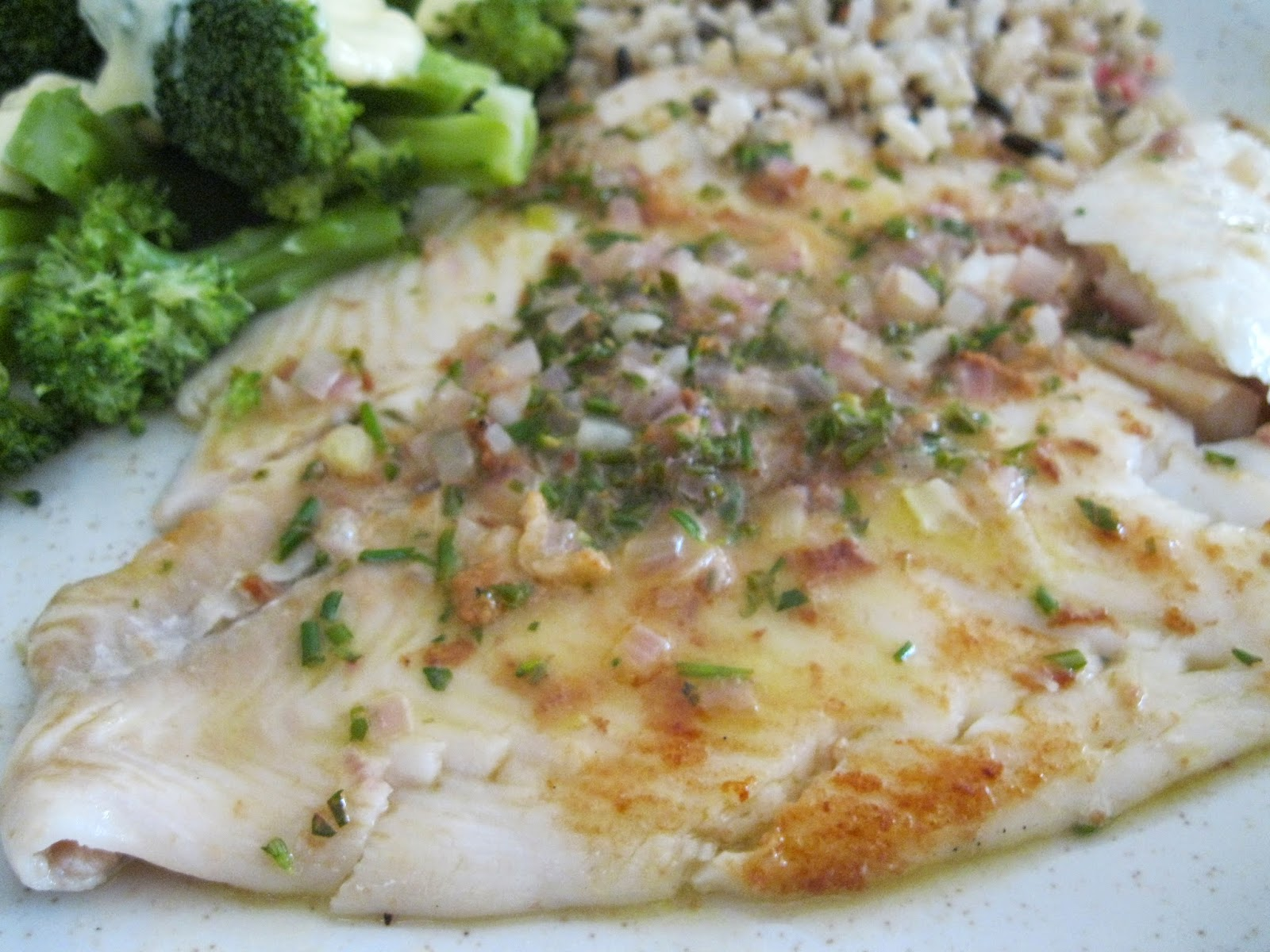 Kevin Mac Cooking: Sautéed Petrale Sole in Herb Butter Sauce