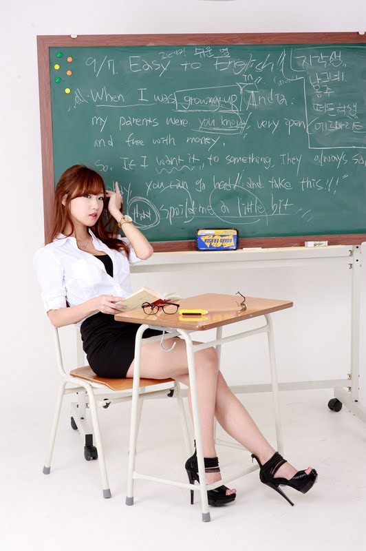 So Yeon Yang - Sexy English Teacher