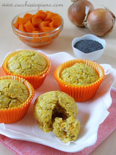 Delicoso muffin de abóbora salgado