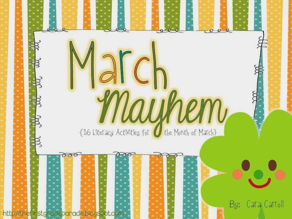 March Mayhem (16 Literacy Activities)
