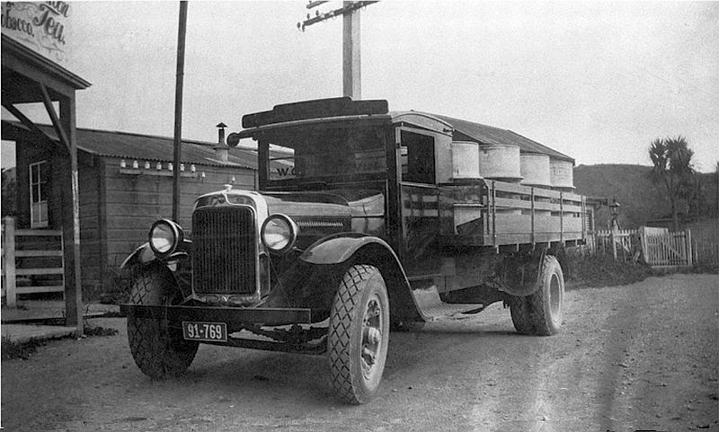 Transpress Nz Old Vehicles On The Kapiti Coast