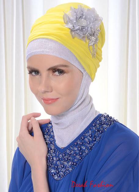 Jilbab Turban Hari Lebaran Idul Fitri