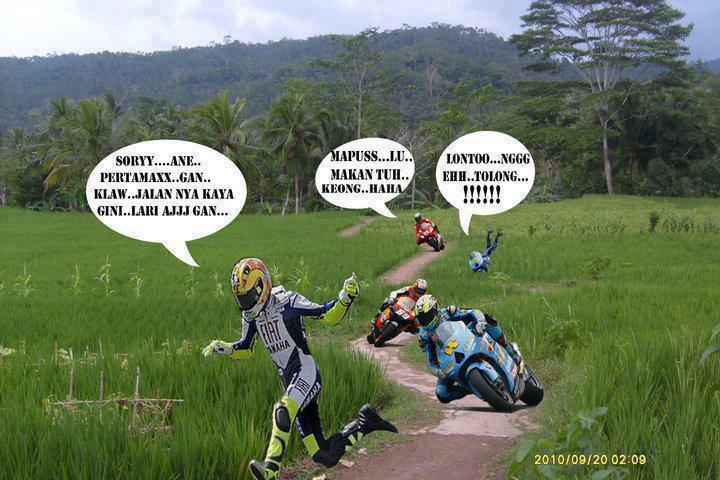 foto lucu balap motogp di sawah download balap motogp di
