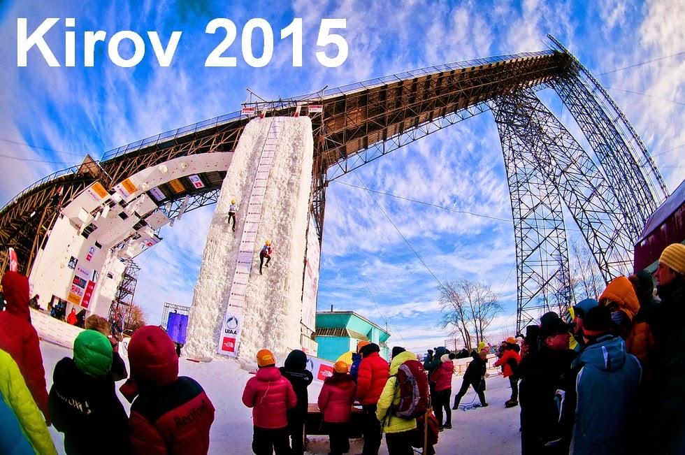 Ice Climbing World Cup Kirov 2015