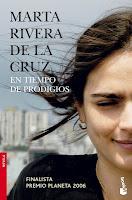 En tiempo de prodigios, Marta Rivera de la Cruz