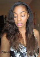 Brazillian Hair Flat Ironed with Jose' Eber 100% pure ceramic flat iron