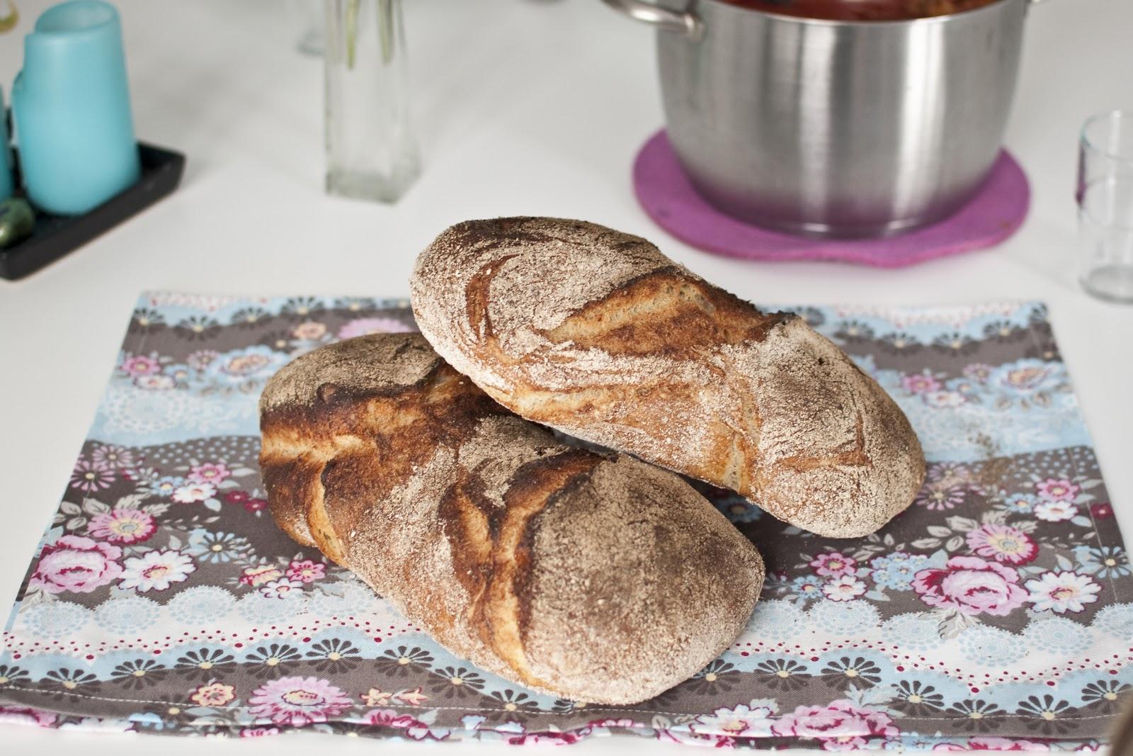 bröd som inte behöver jäsa