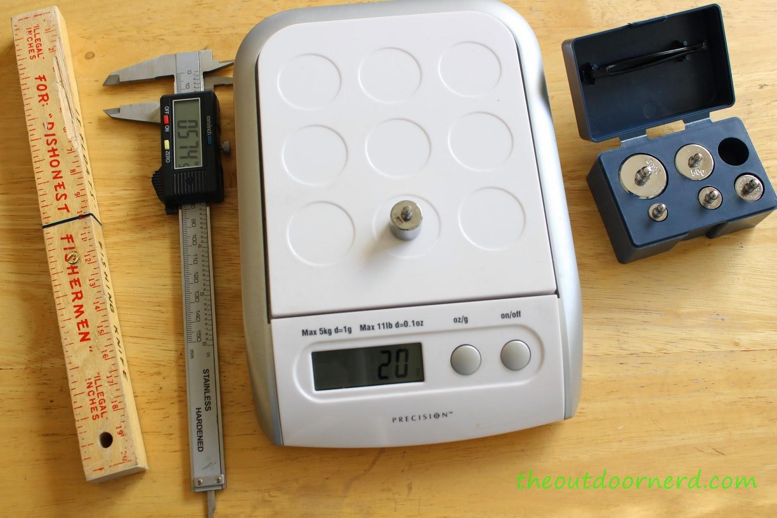 The Outdoor Nerd Measurement Tools