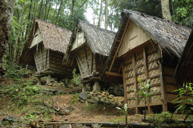 Download this Lumbung Padi Suku Baduy picture