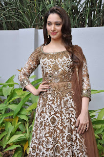 Tamannah Bhatia Picture Gallery in Designer Dress at Bengal Tiger Movie Launch ~ Celebs Next