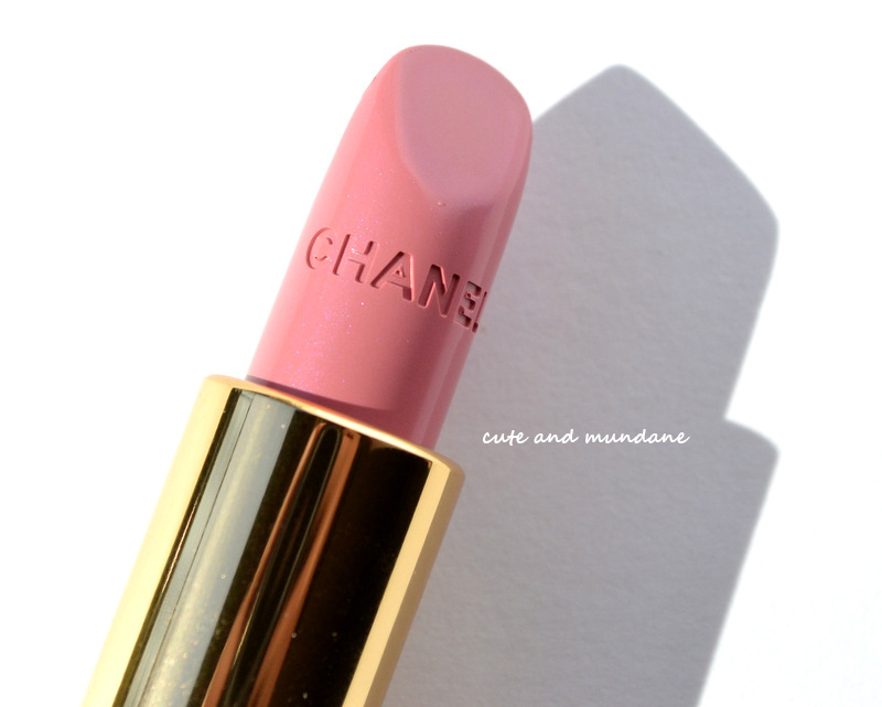 ... Mundane: CHANEL Rouge Allure Lip Color in Radieuse review + swatches