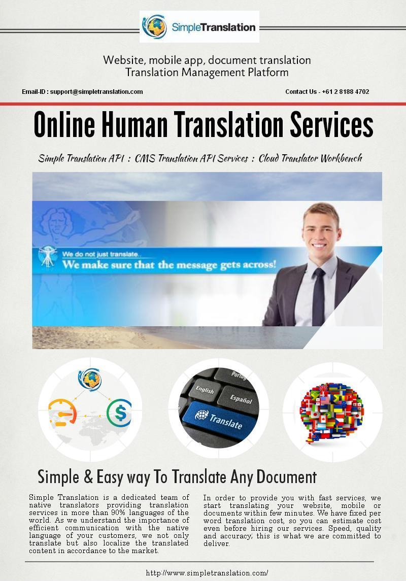 Online Professional Language Translation Company