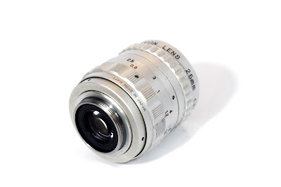 Cosmicar Television Lens 25/1.4 - C-mount [rear side]