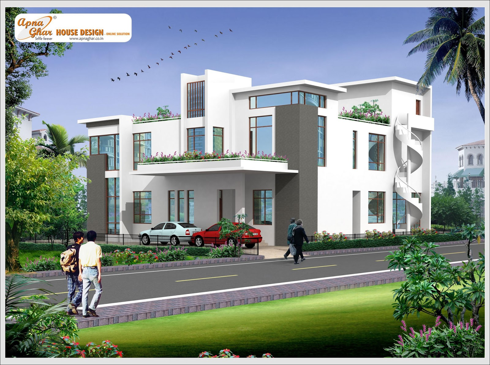 House plans and design architectural designs of bungalow for Architectural designs for bungalows