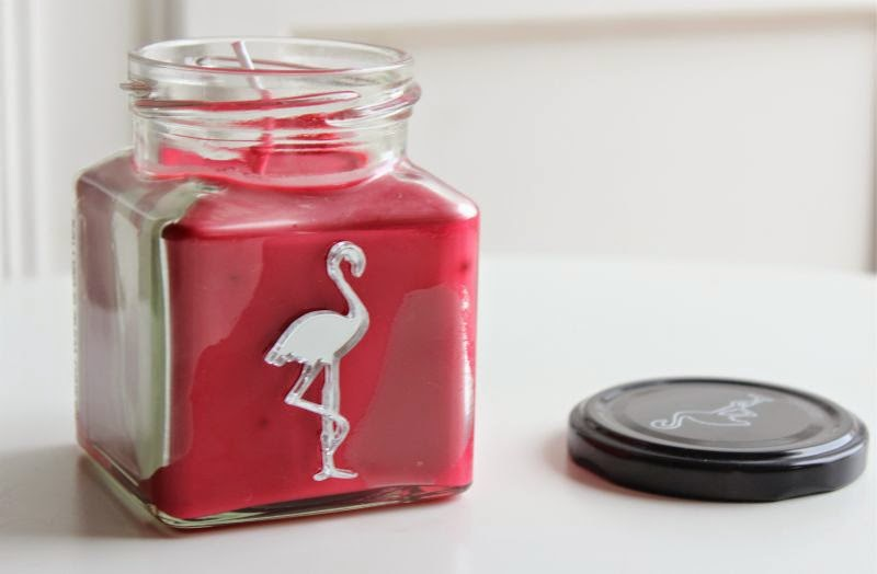 Flamingo Candles Mulled Wine and Berries Candle