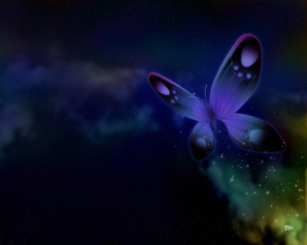 Best Dark Purple Butterfly | Okay Wallpaper