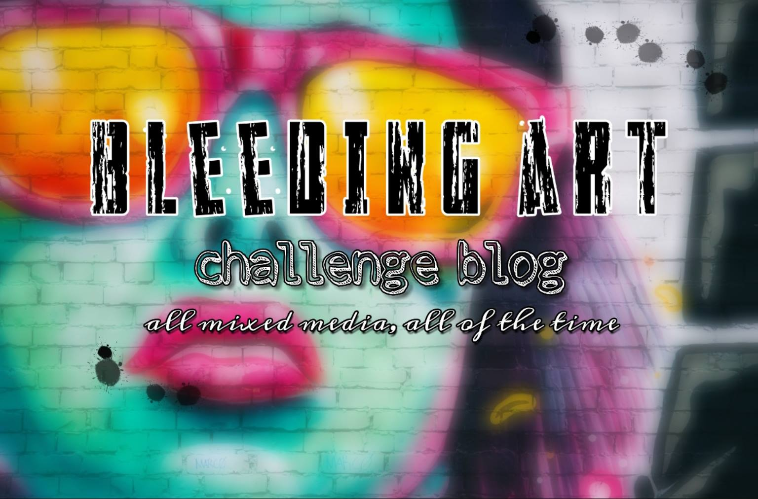 BleedingArt Challenge Blog