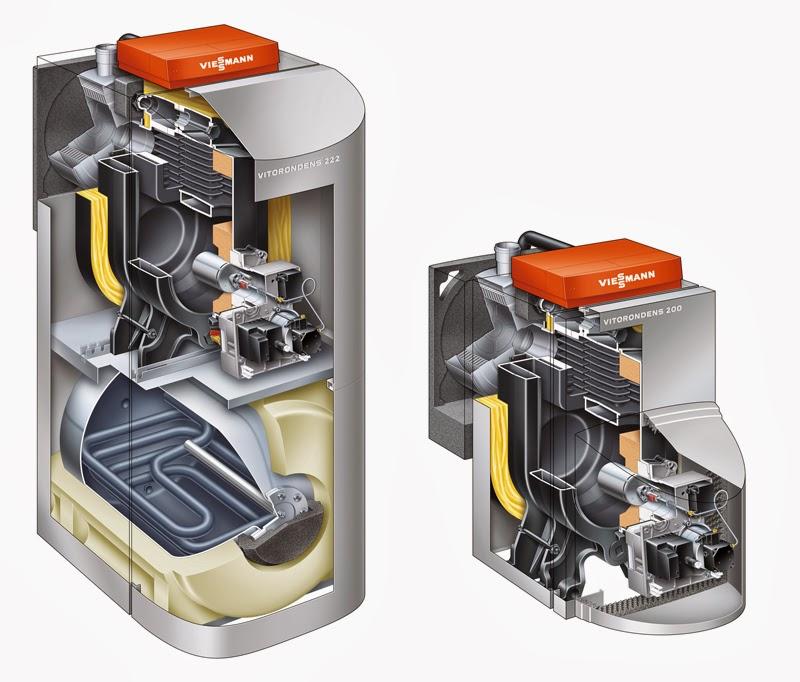 Chaudi re fioul viessmann vitorondens 200 t et 222 f elyotherm - Chaudiere condensation viessmann prix ...