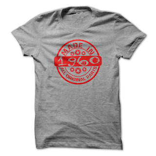 Made in 1960 Tshirt